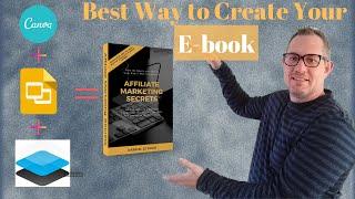 Wie zu verwenden Canva erstellen Sie eine Professionell aussehende e-book | Lead-Magnet Teil 1 Tutorial