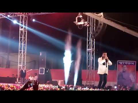 Abhijit live domjur uttsav 2017 at pakuria