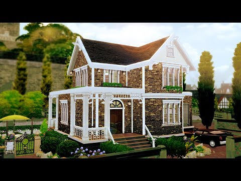 ALBANY ABODE || The Sims 4: Speed Build