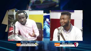 Michael Danso of West African Football Academy on the Adonko Premier League Show
