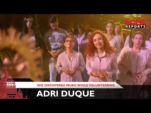 Adri Duque, singer who discovered music while volunteering at a prison in Medellin