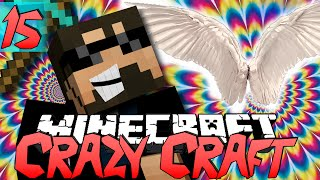 Minecraft CRAZY CRAFT 2.0 | Flying Troll! [15]