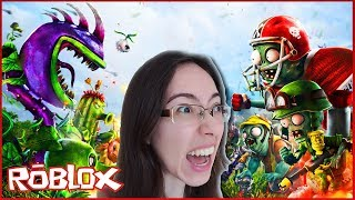 I entered for a day at PLANTS vs ZOMBIES in ROBLOX-NandaPlay