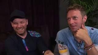 Chris Martin von Coldplay: «Wir haben den besten Job der Welt!»