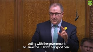 Tory MP urges MPs to back Theresa May's #BrexitDeal for Lent