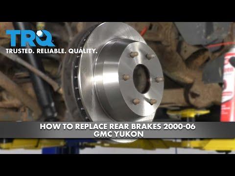 How to Replace Rear Brakes 2000-06 GMC Yukon