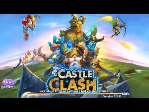 Castle Clash Ouverture De 2 Carte De Hero Légendaire