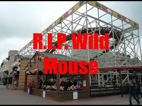Blackpool pleasure beach wild mouse hope, you