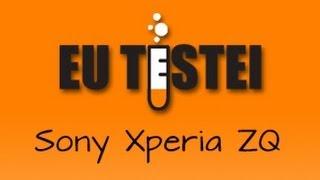 Smartphone Sony Xperia ZQ (ZL) C6503 - Resenha Brasil