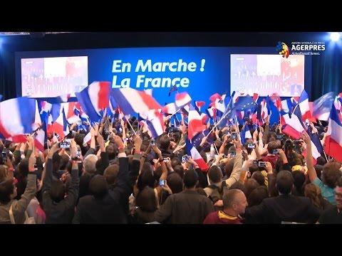 Alegeri prezidențiale în Franța: Macron și Le Pen, în luptă pentru turul al doilea