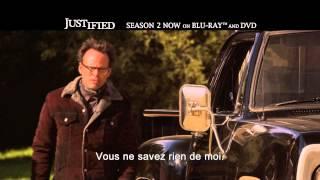 Justified Saison 2 // Clip (sous-titres français) // A partir de 8 mai en DVD