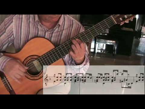 GAROTA DE IPANEMA  Girl of Ipanema c jobim guitar solo chitarra violão with music score