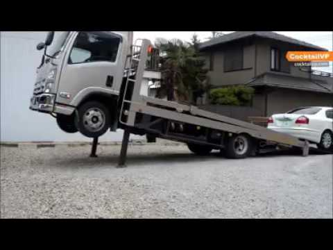 Method of auto transport in Japan  Credit Cocktail-VP