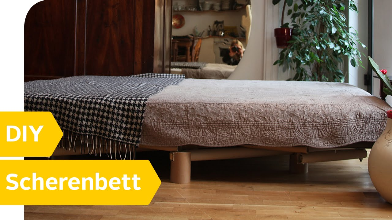 DIY Anleitung – Scherenbett aus Karton einfach selber bauen ...