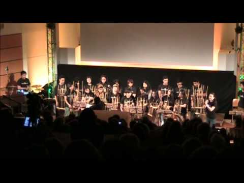 Angklung Hamburg - 'Just Music' Joint Concert - Demo (Letzter Tag)