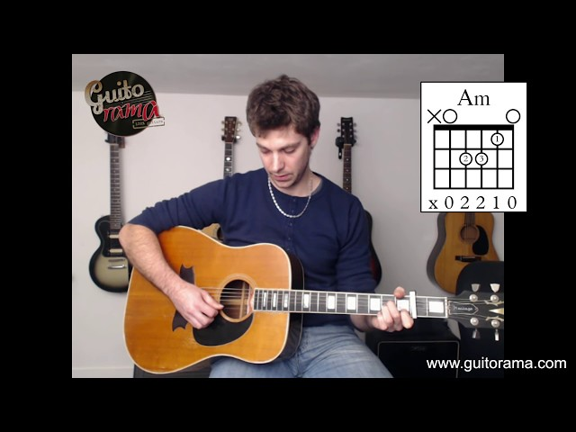 Cours de guitare Pop Rock WHAT'S UP / 4 Non Blondes (morceau très facile débutant)