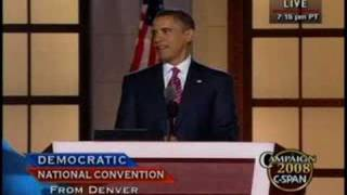 08/28/08 Barack Obama Speech