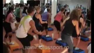 LotusSport.ro: Alfredo Petrosino - Step aerobic in Romania (part 1)
