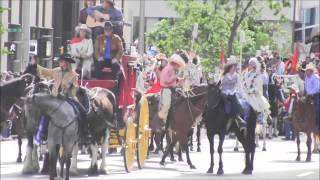 Calgary Stampede Parade 2013 (All my vids into one)