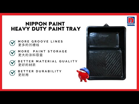 The Features of Nippon Paint Heavy Duty Paint Tray - Better Painting Experience with Quality Tools
