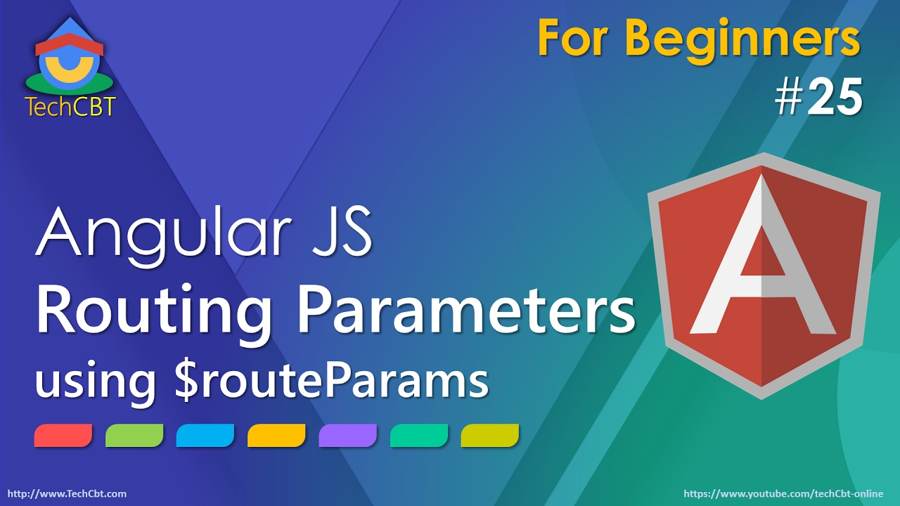 AngularJS - Routing Parameters (using ngRoute, $routeParams and  redirection))