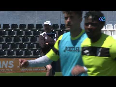 El Ceuta prepara el último partido de la fase de ascenso
