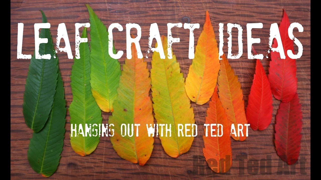 Leaf Craft Ideas for Autumn - YouTube - photo#13