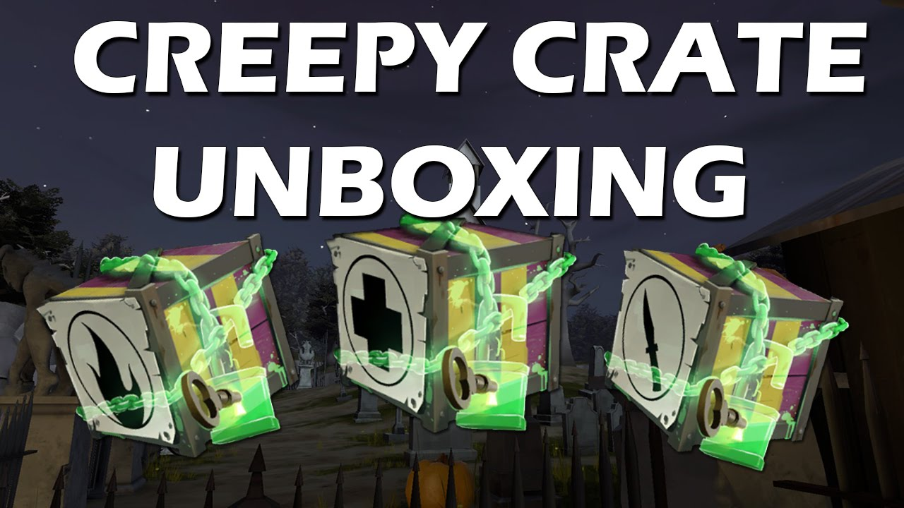 Tf2 Creepy Crate Unboxing Halloween Update