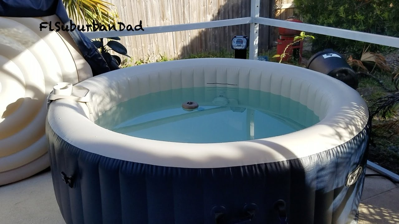 Jacuzzi Pool Youtube Should You Really Buy A Intex Spa Suburban Dads Thoughts Youtube