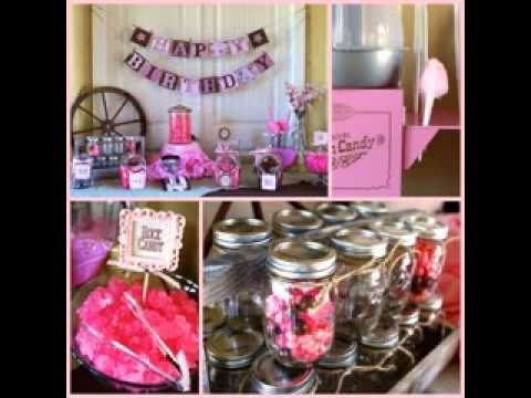 Cowgirl baby shower ideas - YouTube