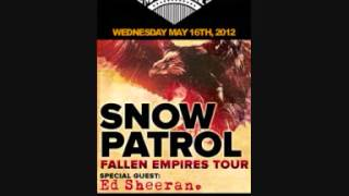 Snow Patrol   Berlin Opening Concert Edit