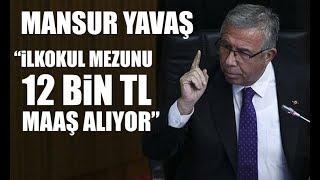"Mansur Yavaş'tan AKP'lilere ""işten çıkarma"