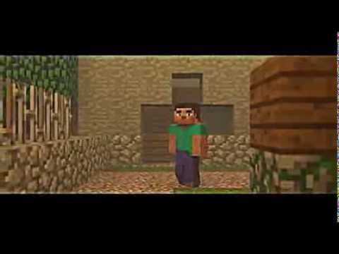 MINECRAFT ANIMATION* Evanescence Bring Me To Life*