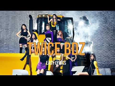 Twice - BDZ (EASY LYRICS)