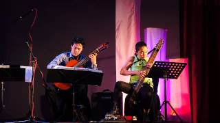 Download A Map of the World - Classical Guitar and Chapman Stick Duo (Cover by Abby Clutario & Nobel Queano) MP3 song and Music Video