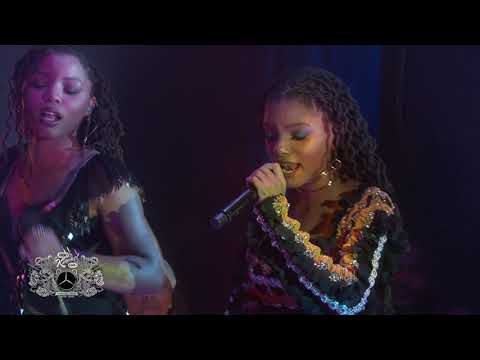 """Chloe x Halle Perform """"Happy Without Me"""" on JIMMY KIMMEL LIVE!"""