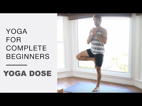 YOGA FOR COMPLETE BEGINNERS: 25 MIN