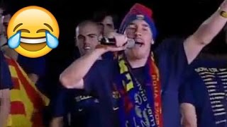 FC Barcelona Funny Moments · Part I · Periscope, Drunk Messi, Shakira & More · Funniest Moments