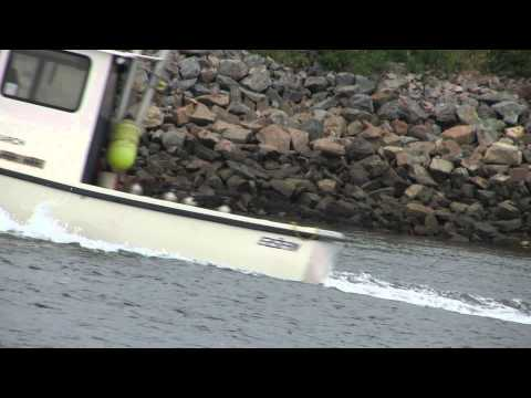 Boat traffic on the Cape Cod Canal