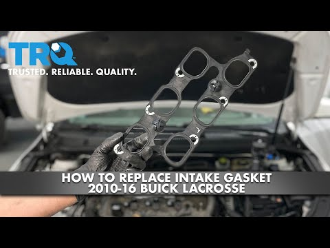 How To Replace Intake Gasket 2010-16 Buick Lacrosse