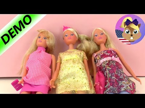 THREE PREGNANT DOLLS | Steffi Love Dolls With Babies | Comparison
