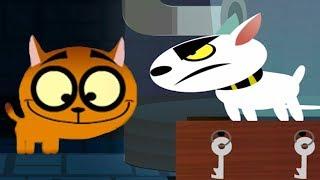 Приключение Маленького КОТЕНКА видео для детей как СИМУЛЯТОР котика виртуальный питомец #ПУРУМЧАТА
