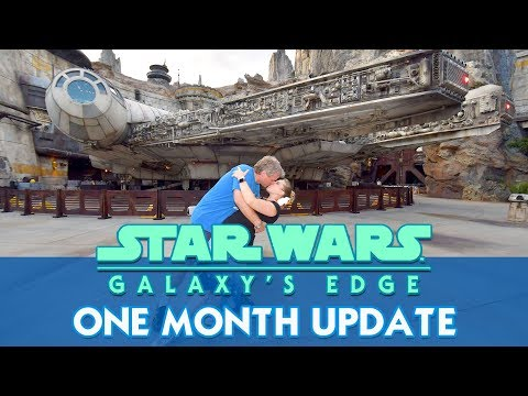 Galaxy's Edge At One Month - Update on Crowds, Food and the First Order Occupation!