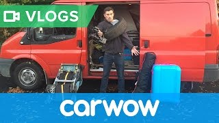 Behind the scenes of a carwow shoot - it's not all glamour!   Mat Vlogs