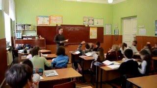 Практика в школе. Урок математики. Левин Владимир. 2016