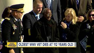 Oldest WWII veteran, Richard Overton, dies at 112 years old