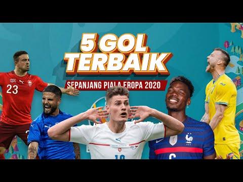 5 Gol Terbaik Piala Eropa 2020