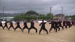 2017年天城中学校 応援合戦 紅軍