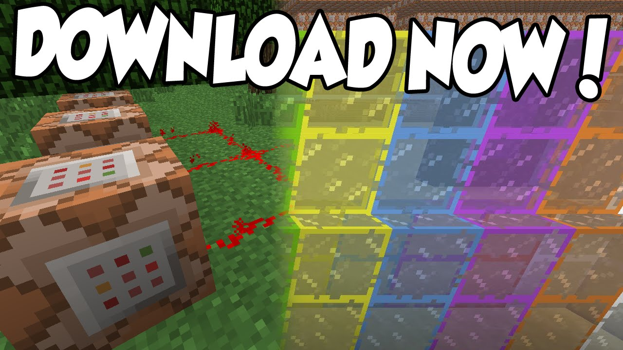 Minecraft XBOX TU COMMAND BLOCK STAINED GLASS MAP DOWNLOAD - Minecraft commands fur maps