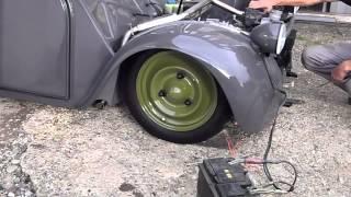 2cv exhaust sound